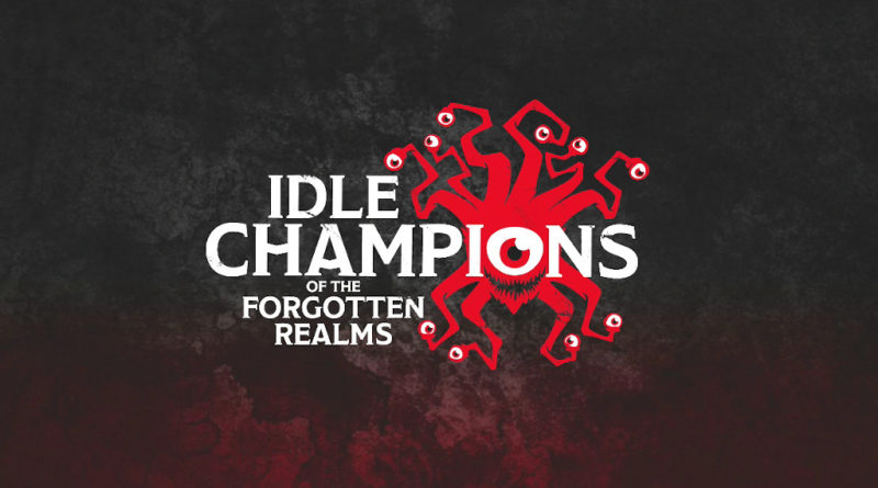 idle champions of the forgotten realms recensione