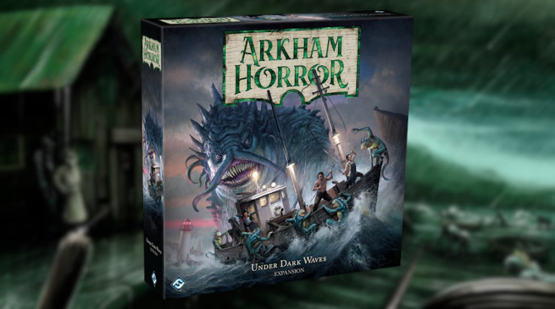 under dark waves arkham horror terza ed meniac news