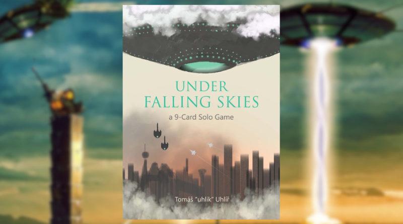 under falling skyes meniac news cover 1