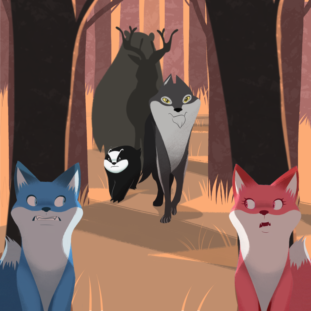 Fox on the Run meniac 1