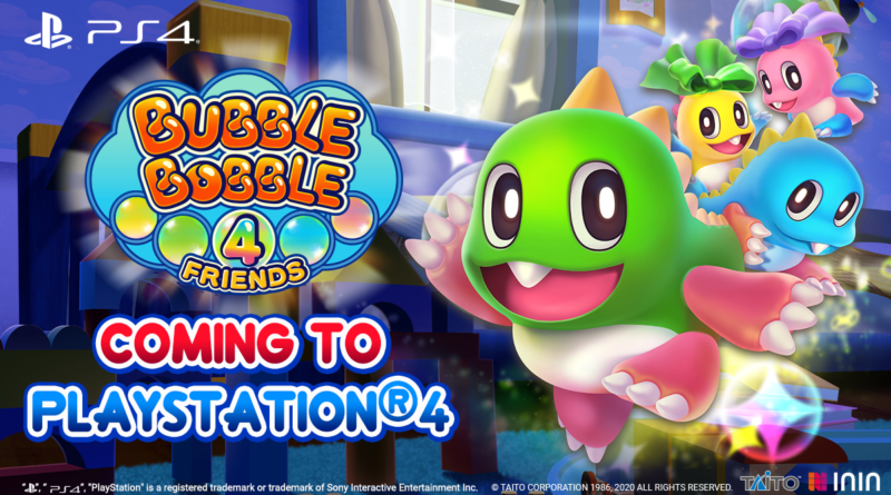bubble bobble 4 friends ps4 contest meniac news