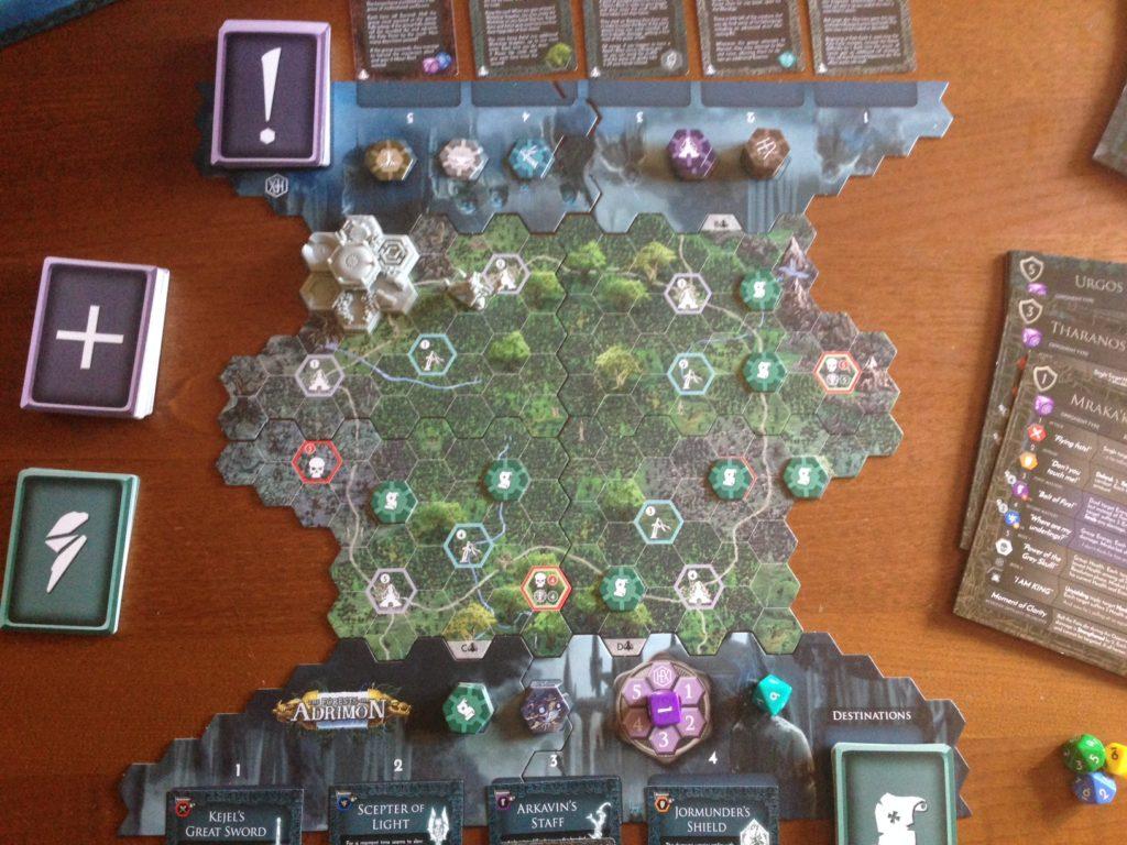 HEXplore It the forest of Adrimon meniac recensione 3