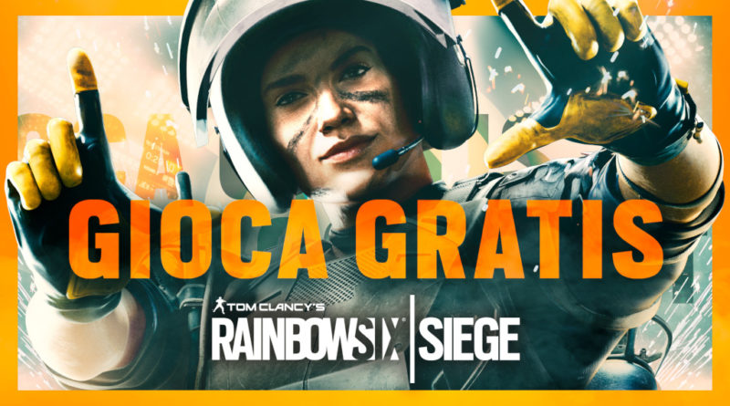 Tom Clancy's Rainbow Six Siege weekend gratuito meniac news