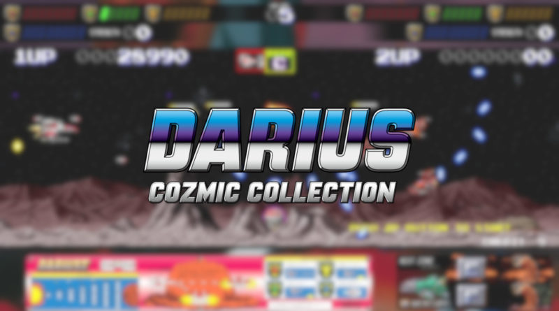 darius cozmic collection arcade console meniac recensione