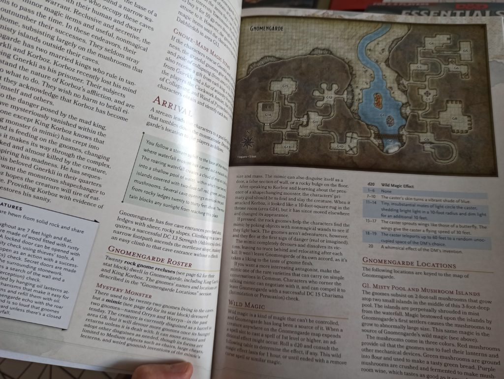 dungeons & dragons 5ed essential kit meniac recensione 5