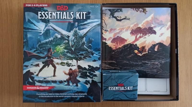 dungeons & dragons 5ed essential kit meniac recensione