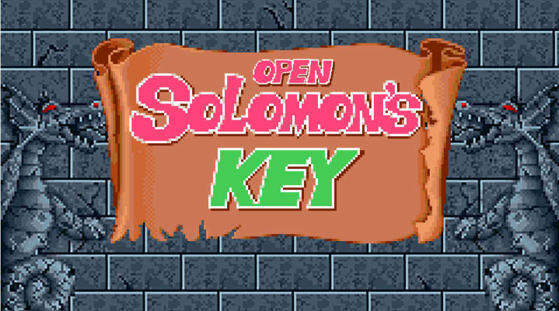 open solomons key meniac news 1