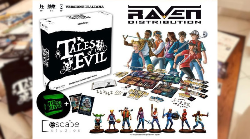 tales of evil edizione italiana meniac news
