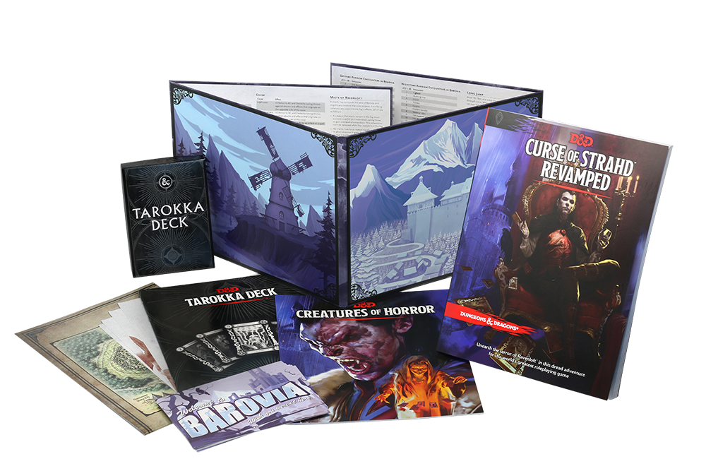 Curse of Strahd revamped meniac gdr news