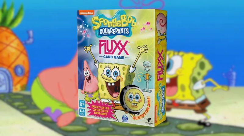 Spongebob Squarepants Fluxx meniac news cover
