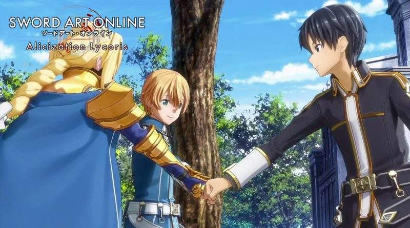 Sword Art Online Alicization Lycoris meniac cover
