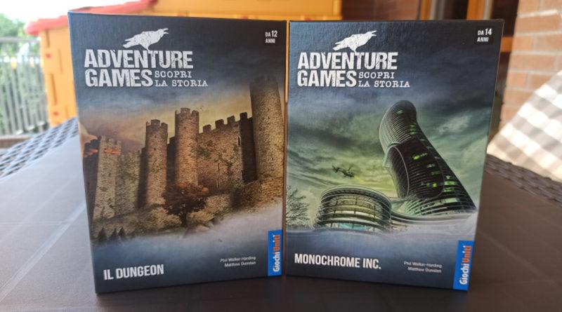 adventure games dungeon monochrome inc meniac recensione