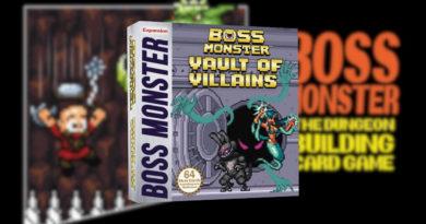 boss monster vault of villains meniac news