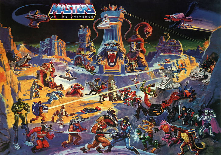 masters of the universe wall meniac news