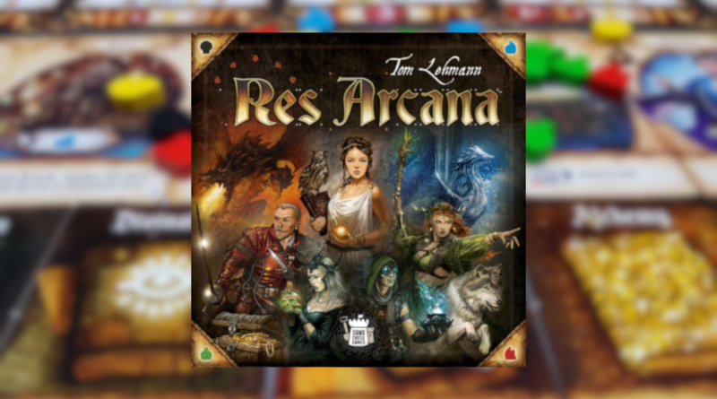 res arcana boardgame italiano meniac news