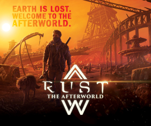 Rust The Afterworld spot banner meniac_300x250