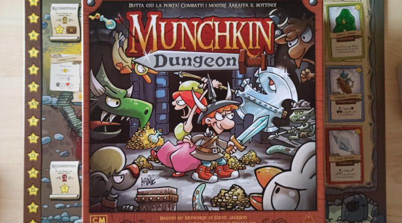 munchkin dungeon meniac recensione cover