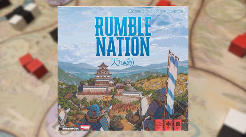rumble nation meniac recensione cover