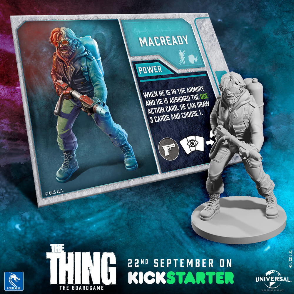 the thing the boardgame pendragon kickstarter meniac news 1