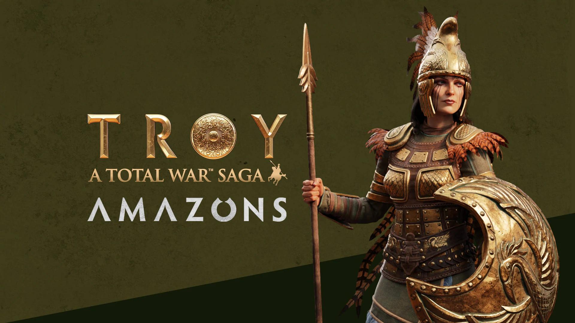 total war troy amazons meniac news