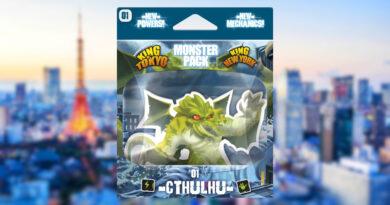Cthulhu monster pack king of tokyo meniac news cover