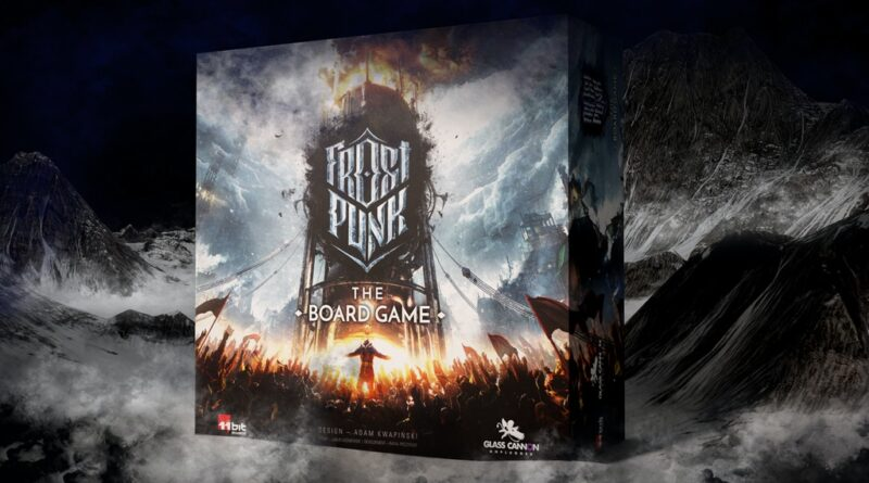 frostpunk the boardgame meniac news cover