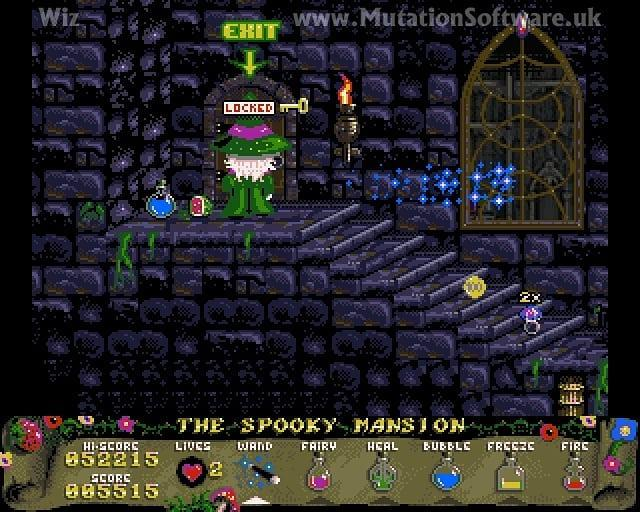 wiz quest for the lantern amiga aga meniac news 1