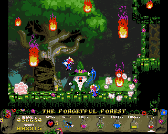 wiz quest for the lantern amiga aga meniac news 2