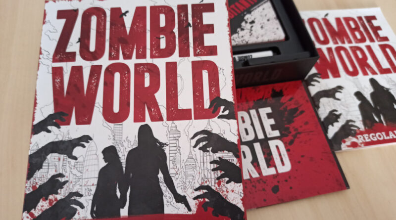 zombie world meniac cover recensione