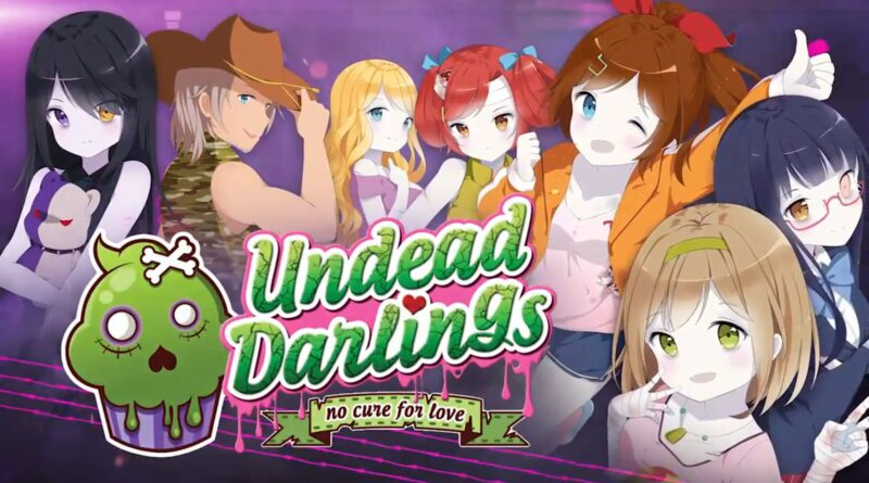Undead-Darlings-no-cure-for-love-cover-meniac-recensione