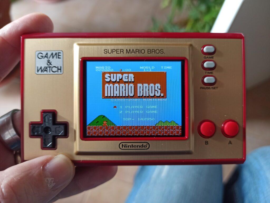 game & watch super mario bros meniac recensione 4