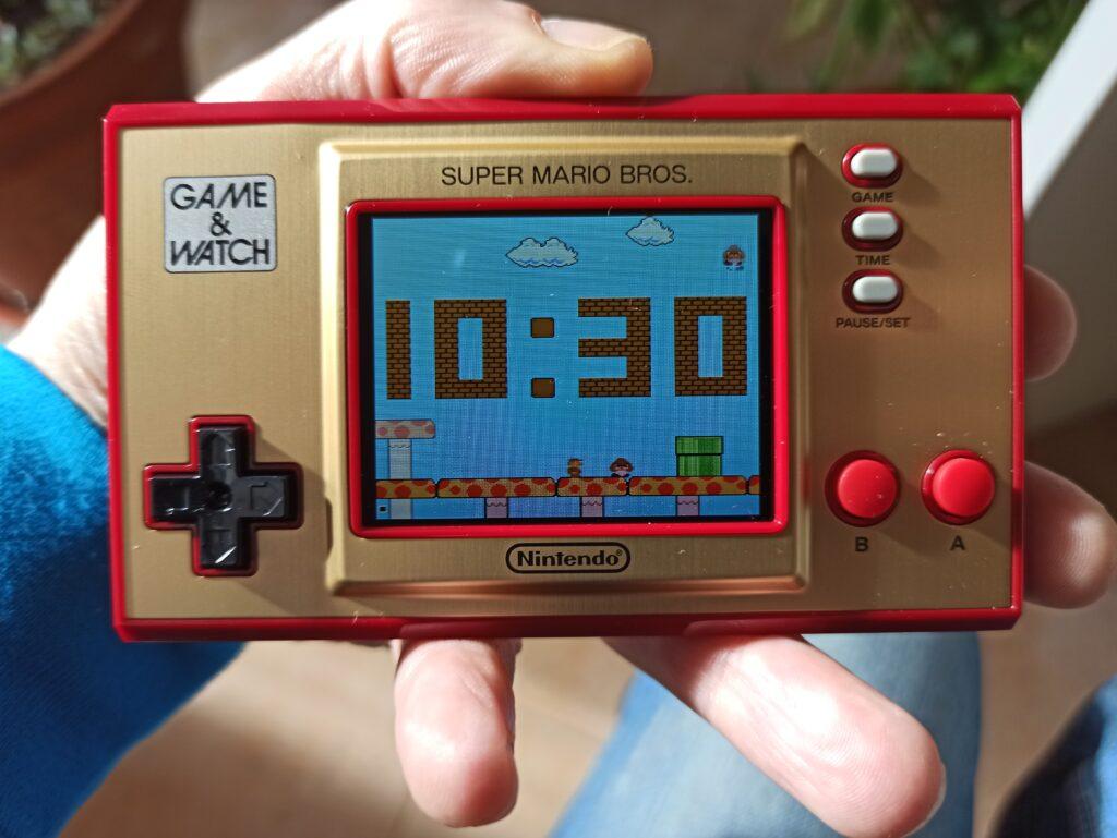 game & watch super mario bros meniac recensione 8