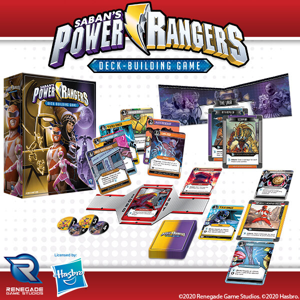 power rangers deck building game meniac news 1