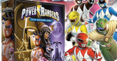 power rangers deck building game meniac news