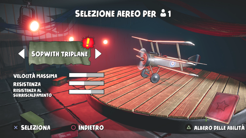 red wings aces of the sky meniac recensione 3
