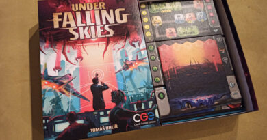 under falling skies meniac recensione cover
