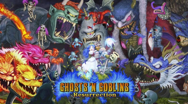 Ghost n goblins resurrection meniac news