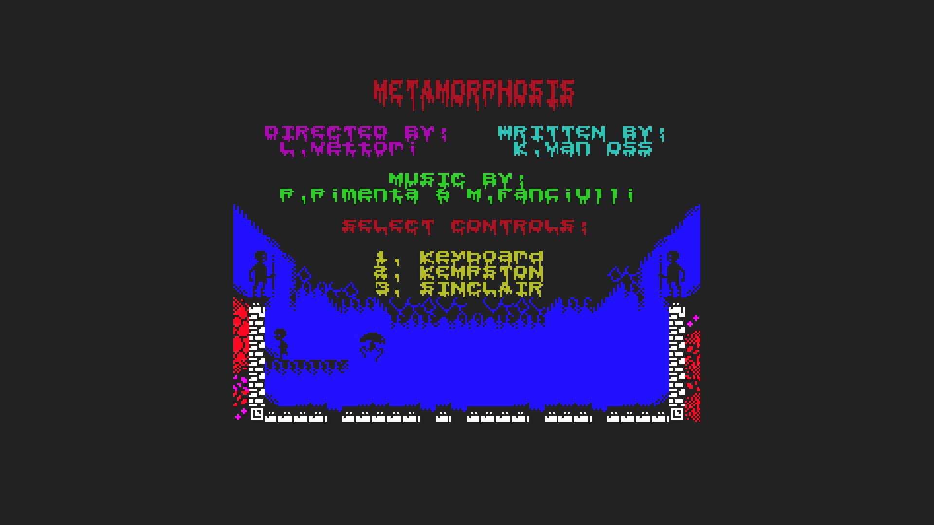 Metamorphosis meniac preview zx spectrum 1