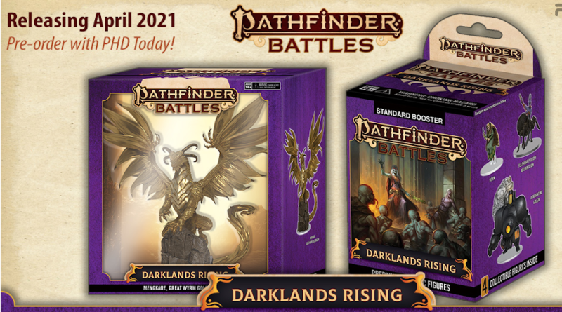 pathfinder darklands rising booster miniature meniac news