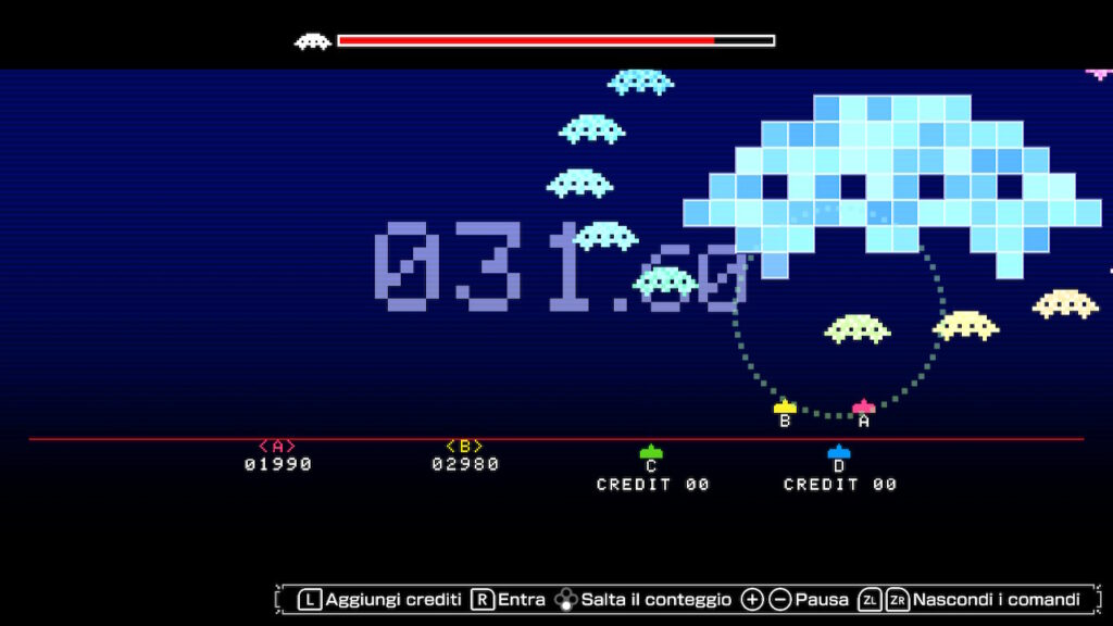 space invaders Forever meniac recensione 3