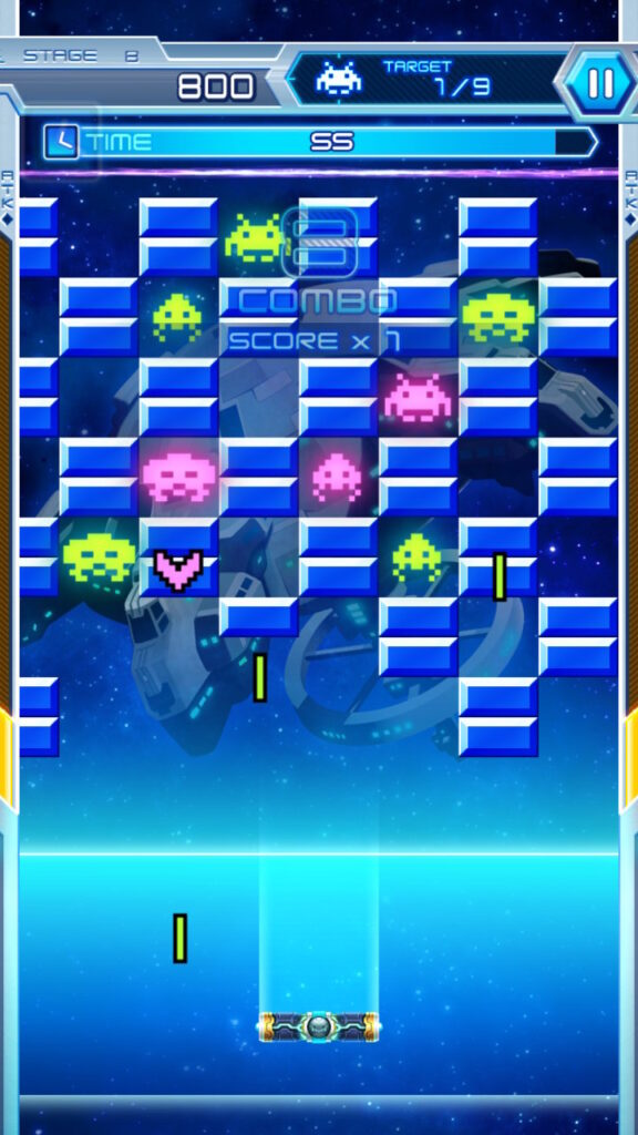 space invaders Forever meniac recensione 4