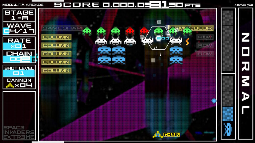 space invaders Forever meniac recensione 7