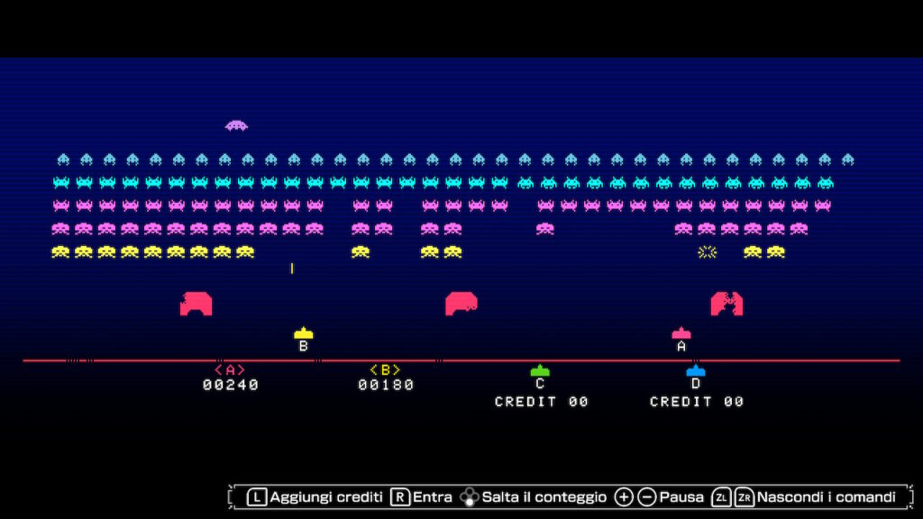 space invaders Forever meniac recensione 8