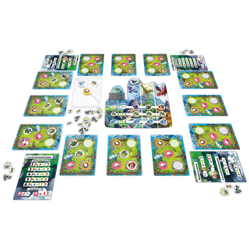 Dragon park boardgame meniac news 1
