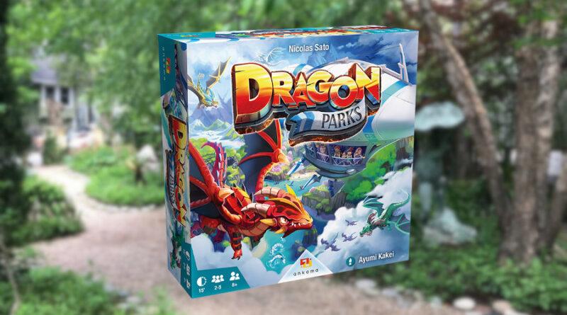 Dragon park boardgame meniac news
