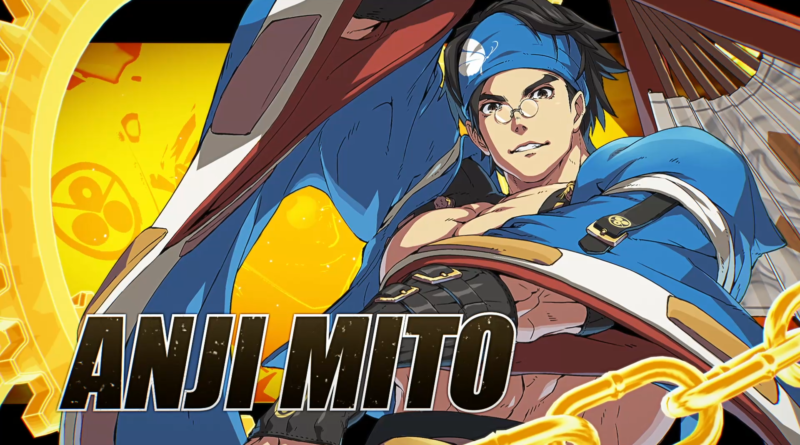 Guilty gear Strive Anji Mito meniac news