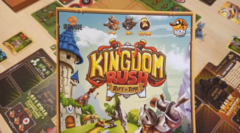 kingdom rush rift in time recensione meniac cover