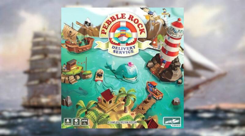 peeble rock delivery service meniac boardgames news