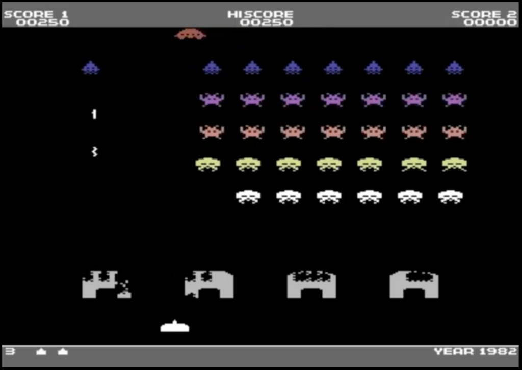 sprite invaders meniac news retrogame c64 1