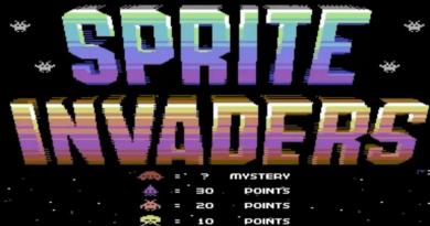 sprite invaders meniac news retrogame c64